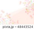 桜 フレーム 桜模様のイラスト 48443524