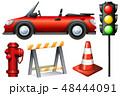 交通 ベクタ ベクターのイラスト 48444091