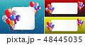 風船 気球 パーティーのイラスト 48445035