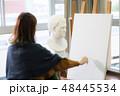 美術アトリエ 石膏デッサン 美術の写真 48445534