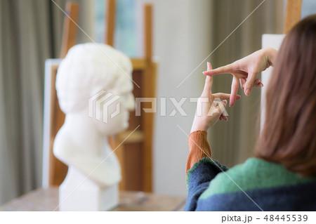 美術アトリエ 石膏デッサン 48445539