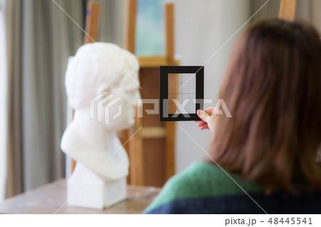 美術アトリエ 石膏デッサン 48445541