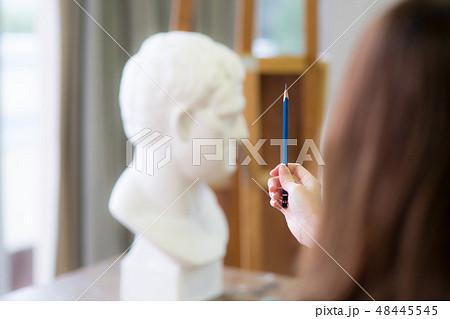 美術アトリエ 石膏デッサン 48445545