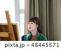 アーティスト 描く 画家の写真 48445571