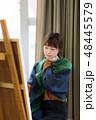美術 アトリエ アートの写真 48445579