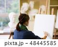 美術 アーティスト 絵画の写真 48445585