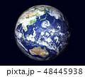 地球(日本付近に巨大台風)星なし 48445938