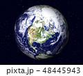 地球(アメリカ大陸,北米)星あり 48445943