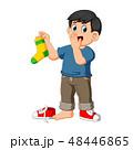 少年 子 子供のイラスト 48446865