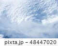 雪 積雪 冬の写真 48447020