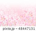 桜 模様 桜模様のイラスト 48447131