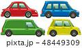 車 四輪車 自動車のイラスト 48449309