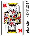 トランプの王様-絵札 48451367