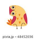 鳥 マンガ 漫画のイラスト 48452036
