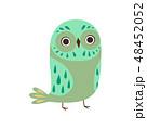鳥 マンガ 漫画のイラスト 48452052