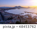 Aerial view of Naples. Italy 48453762