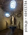 Florence, Tuscany, Italy, Entrance of the Buontalenti Grotto in Boboli Gardens. Unesco World 48453784