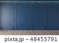 青 クラシック 古典のイラスト 48453791