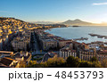 Aerial view of Naples. Italy 48453793