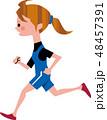 マラソン 48457391
