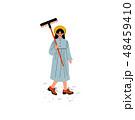 女性 メス 器具のイラスト 48459410