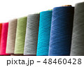 different color spools of thread for the textile industry   48460428