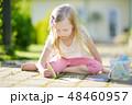 チョーク 白亜 子の写真 48460957
