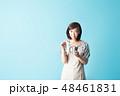 女性 コップ カップの写真 48461831