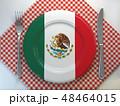 メキシコ メキシカン 概念のイラスト 48464015
