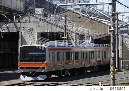 武蔵野線用に転用改造が進む、総武線E231系 48466805