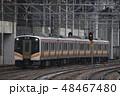 乗り物 上越線 電車の写真 48467480