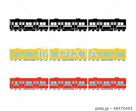 電車のイラスト 48470465