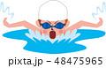 水泳 48475965