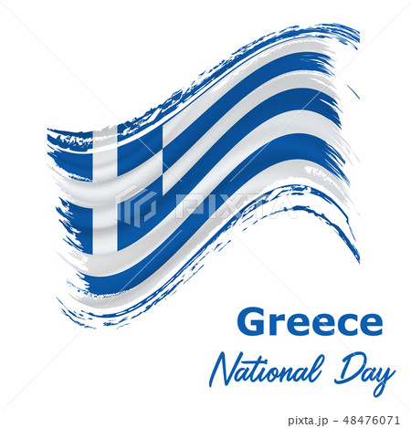 25 March, Greece Independence Day background  48476071