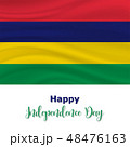 12 March, Mauritius Independence Day background 48476163