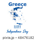 25 March, Greece Independence Day background  48476182