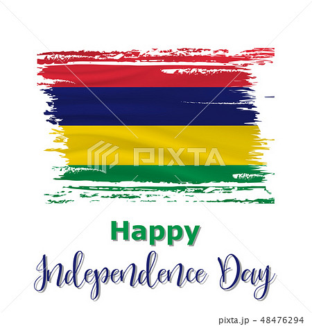 12 March, Mauritius Independence Day background 48476294