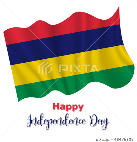 12 March, Mauritius Independence Day background 48476305