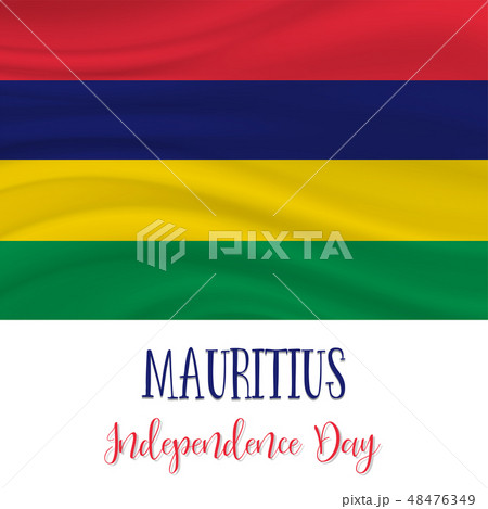 12 March, Mauritius Independence Day background 48476349
