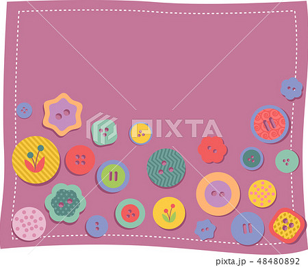 Buttons Background Illustration 48480892