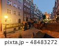 グダニスク 街 ポーランドの写真 48483272