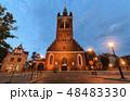建築 街 グダニスクの写真 48483330