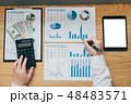 平面図 ビジネス 職業の写真 48483571