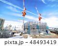 建設現場 建設 ビルの写真 48493419