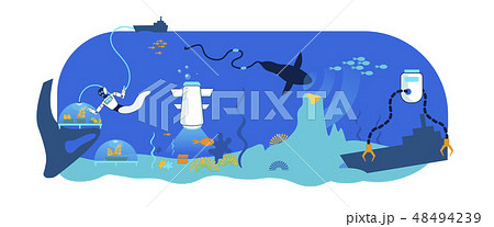 Sea Underwater Robot Technology. Research, Rescue. 48494239