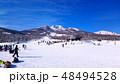 スキー 雪 冬の写真 48494528