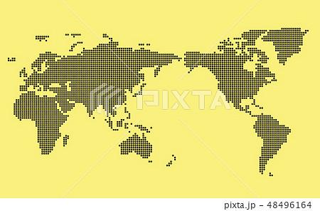 モザイク世界地図 Wold Map 48496164