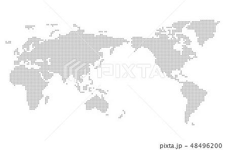 モザイク世界地図 Wold Map 48496200