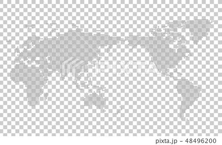 馬賽克世界地圖Wold Map 48496200