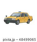 タクシーのイラスト 48499065